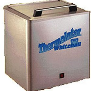 Hydrocollator - hold 8 thermal packs which are included. The unit sits on a table.