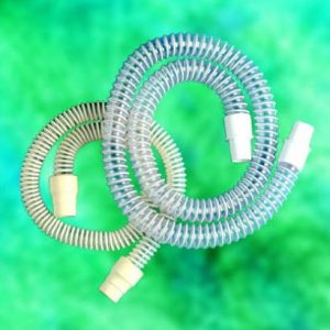 """Tubing - Corrugated Reusable Latex Free 72"""" long, fits 22 mm connectors."""