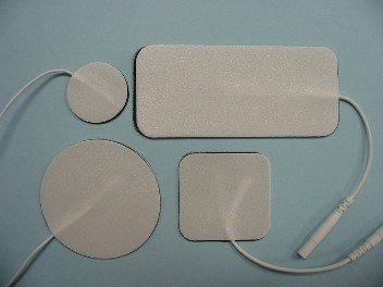 """Electrode pads - TENS/EMS reuseable, 1.5"""" x 1.5"""""""
