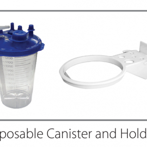 Suction Canister - Autoclavable Canister Holder, 1300CC