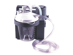 Suction Unit - 7305P-D: Portable suction with battery