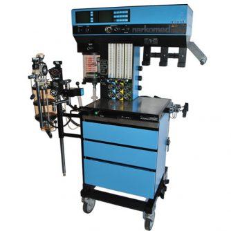 Anesthetic gas machine, refurbished