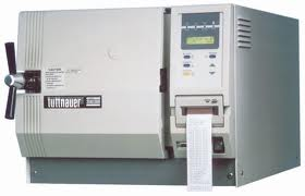 Autoclave, refurbished, automatic with printer