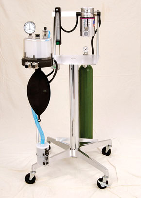 "Anesthetic Gas Machines-The Model 51111 has all the unique features of the BICKFORD 51110 with an addition of one ""E"" cylinder yoke.- See features"